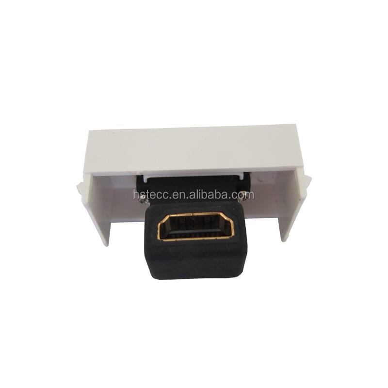 Hochwertige Rechten Winkel HDMI Wandplatte Buchse auf Buchse