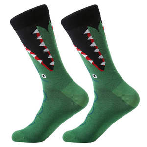 Unisex Casual Funny Custom Logo Knitted Animal Anklet Socks
