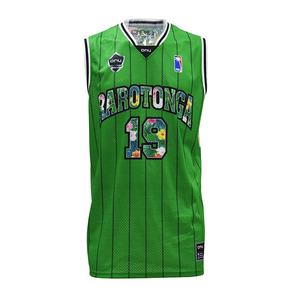 Custom 탑 Style Personalized Plain womens 농구 Jersey Uniform Design Green