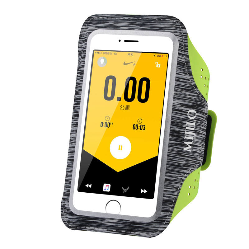 Waterproof sport running arm bag armband case with touch screen