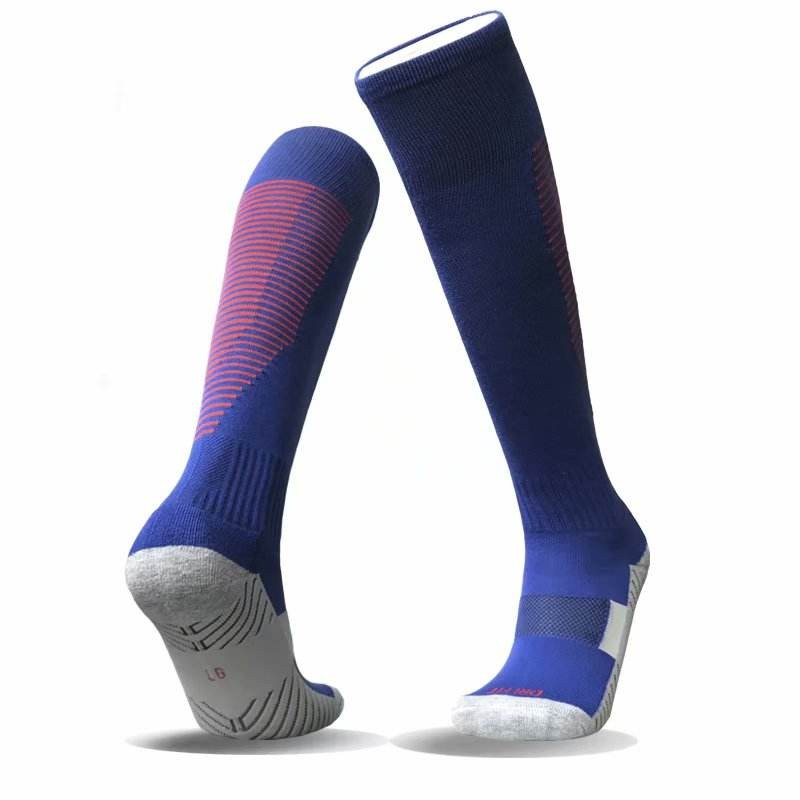 Brand New Hot Club football soccer socks Anti Slip breathable Walking Soccer Socks