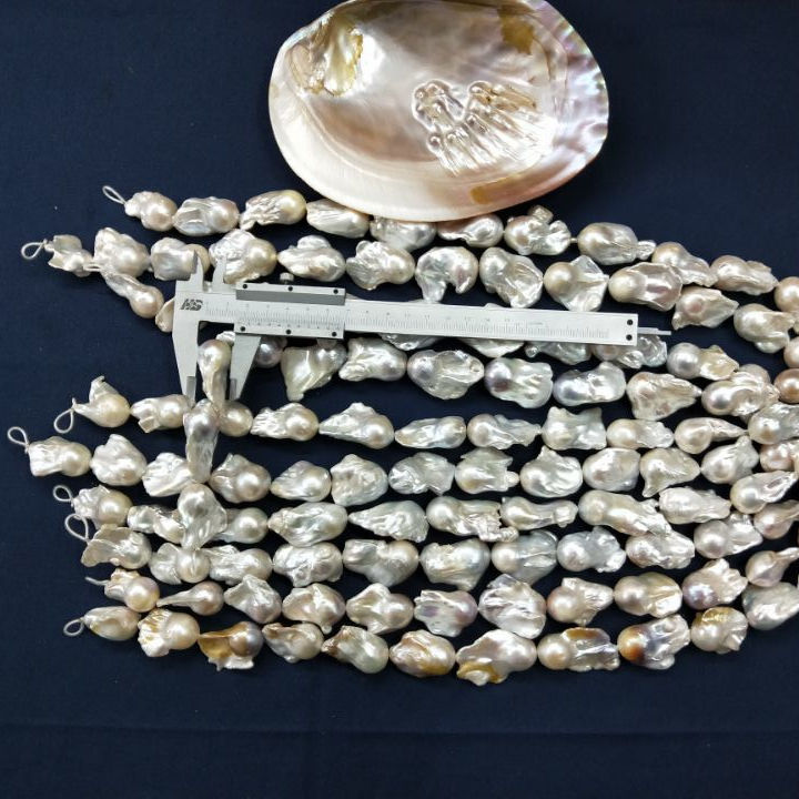 Lot 10 5mm-5.5mm Gray Peacock Freshwater Round Irregular Pearls Gemstone Beads