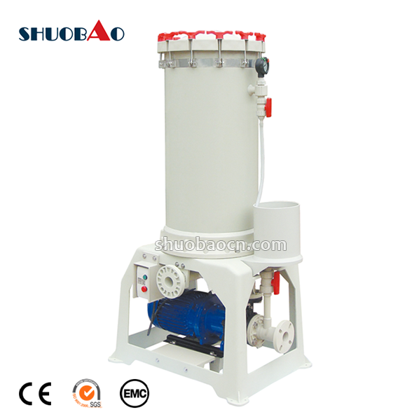 SHUOBAO PP plastic filter housing for chemical water treatment
