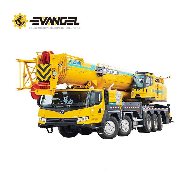 X CMG heavy lift Crane XCT130 130 ton hydraulic all terrain crane with overseas maintenance service and quality guarantee