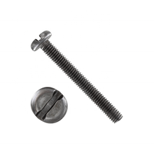Stainless / Steel slotted cheese head screw Slotted head screw