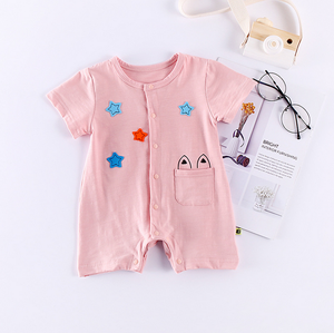 Newborn Baby Clothes Camping Summer Romper Baby Boys Clothes