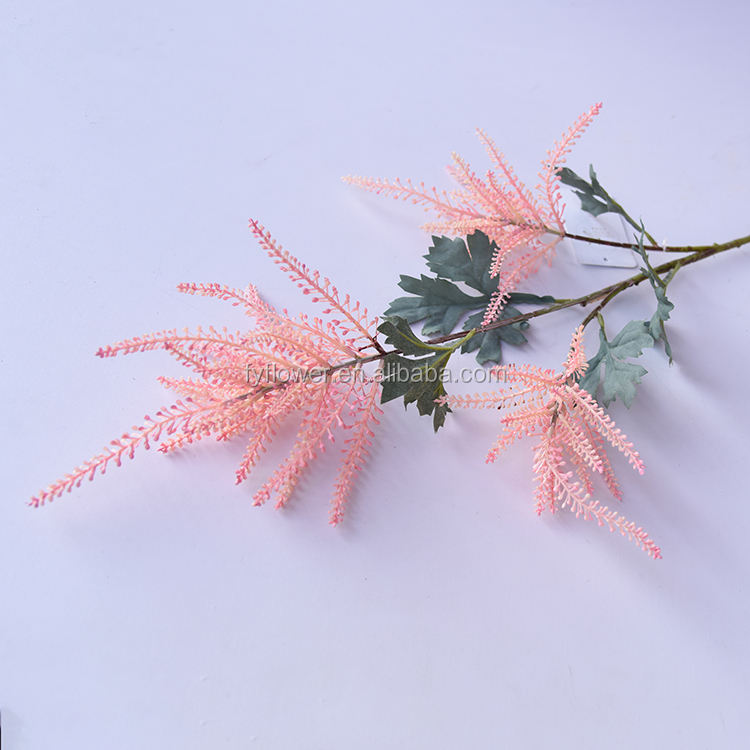 Nearly Natural Plant to Brighten up Your Home Party and Wedding Decor Pink Astilbe