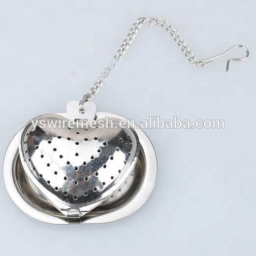 leaf tea infuser with chains/stainless steel tea strainer house shape/ss tea ball