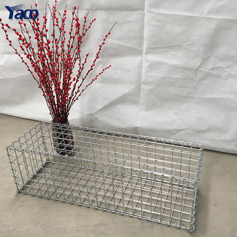 4mm gabion cages welded iron gabion basket box price Low Cabion Steel Wire /galvanized Steel Welded Gabion Mesh