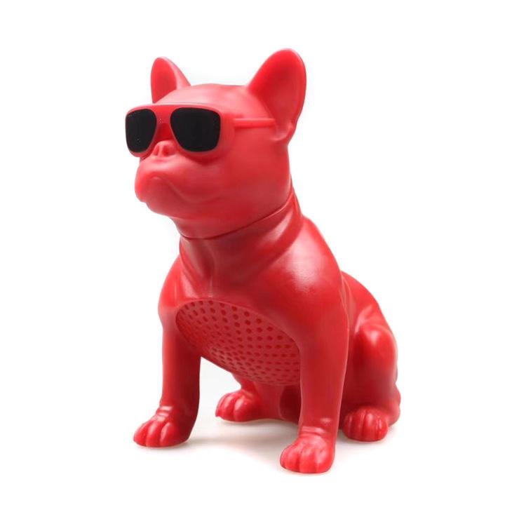 핫 세일 Mini Cartoon Animal Bulldog 개 무선 Bluetooth <span class=keywords><strong>스피커</strong></span>