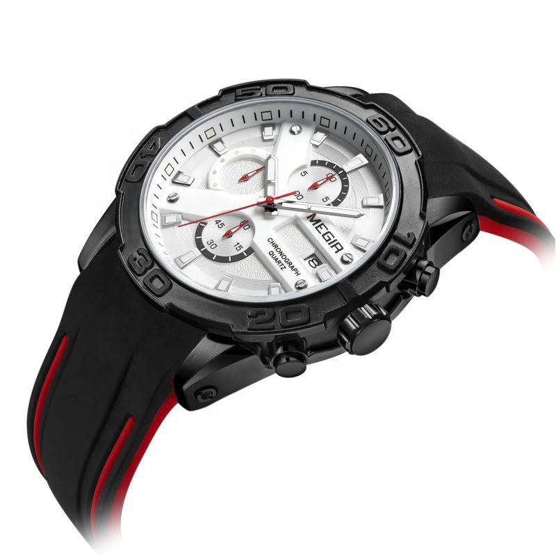 High grade best selling 2055G megir watch men chronograph with custom logo