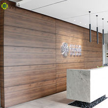 Factory Modern Europe Style Decorative wooden interior wall panel for hotel or office space