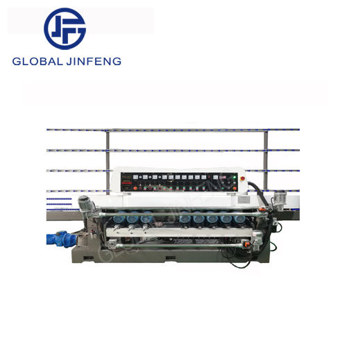 JFB-261 glass beveling edging grinding machine straight line