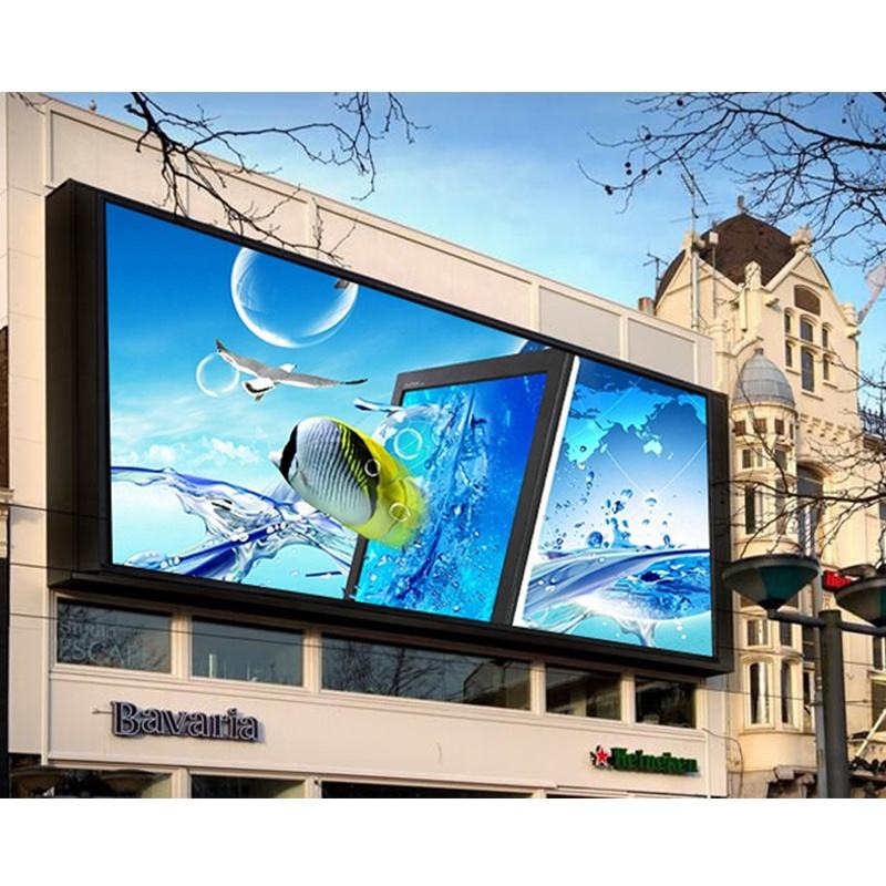 p5 p8 p6 HD advertising display P5.95 waterproof front maintenance wall screen smd RGB outdoor digital led billboard