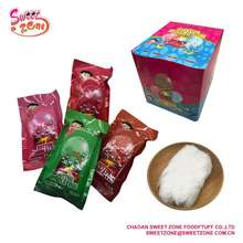 Magic Cotton Bubble Chewing Gum Soft Candy