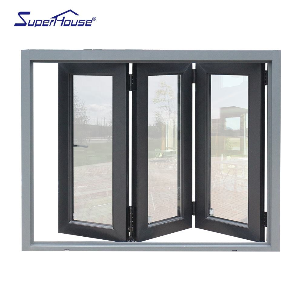 Superhouse triple glazed bifold windows Australia
