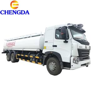 Fuel Tanker Truck Dimensions Size Optional Capacity 20 CBM Oil Fuel Tank Truck For Sale