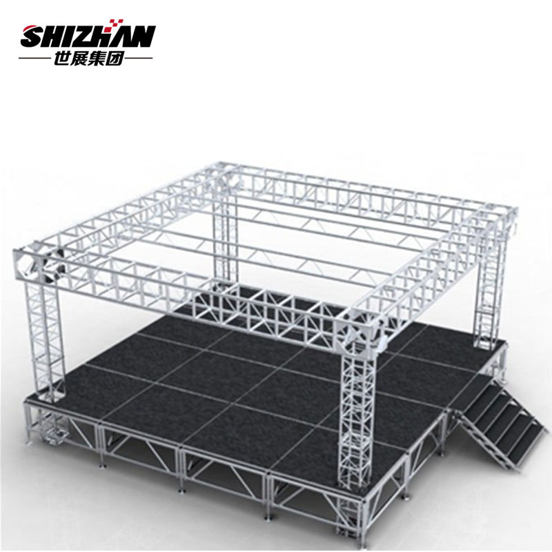 Whole sale aluminum led truss display goal post lighting truss