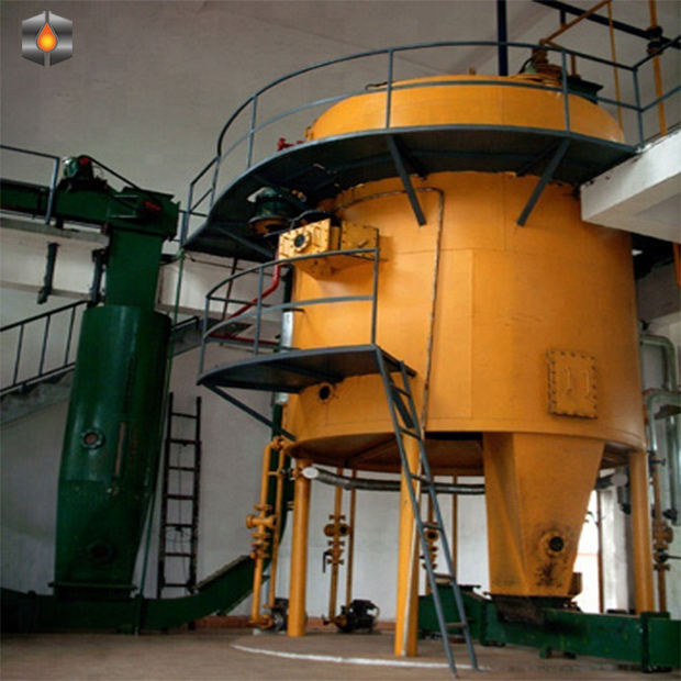 10-200 ton vegetable sunflower castor corn germ oil solvent extractor refining machine equipment
