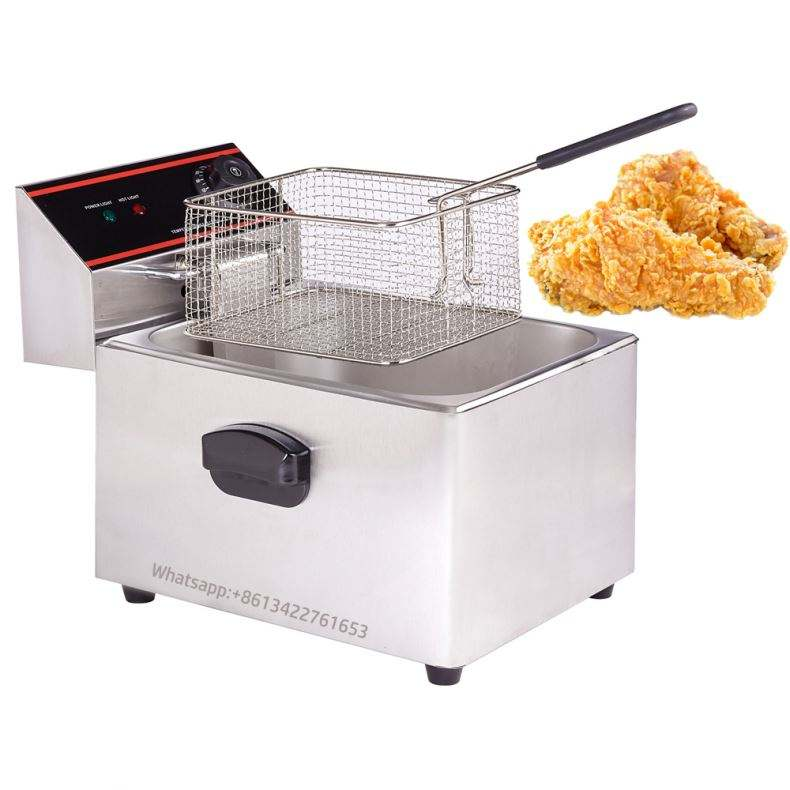 CE certificate Commercial electric fryer machine churro machine potato chips fryer machine 16L deep fryer