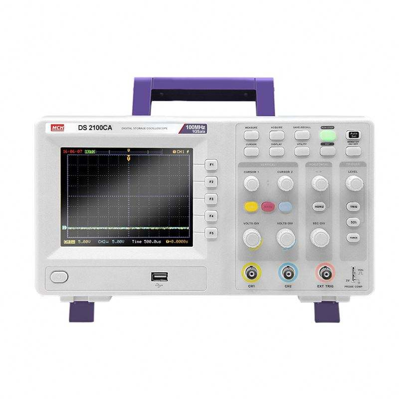 DS-2000 Series 2 Channels 100MHz Digital Storage Oscilloscope DSO
