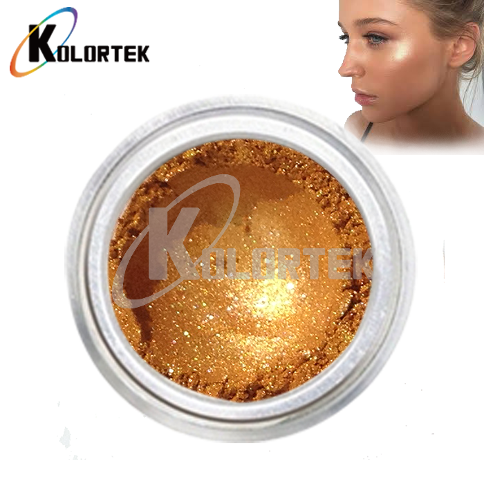 High Quality Metallic Highlighter Body Shimmer Pigment Mica Loose Powder Highlighter Makeup
