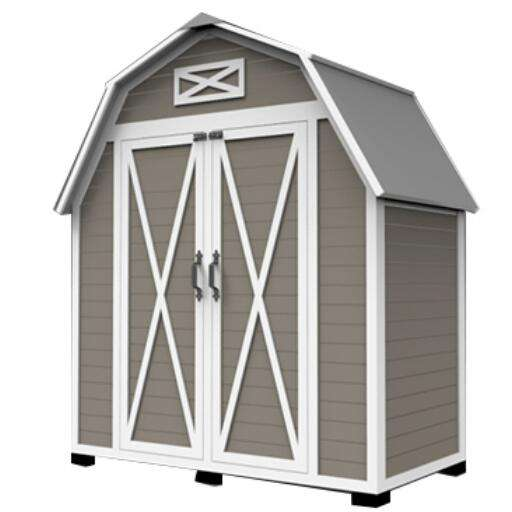 Wood Shed Kit Wooden Backyard Garden Sheds & Storage
