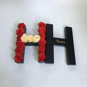 wholesale luxury letter flower boxes for roses