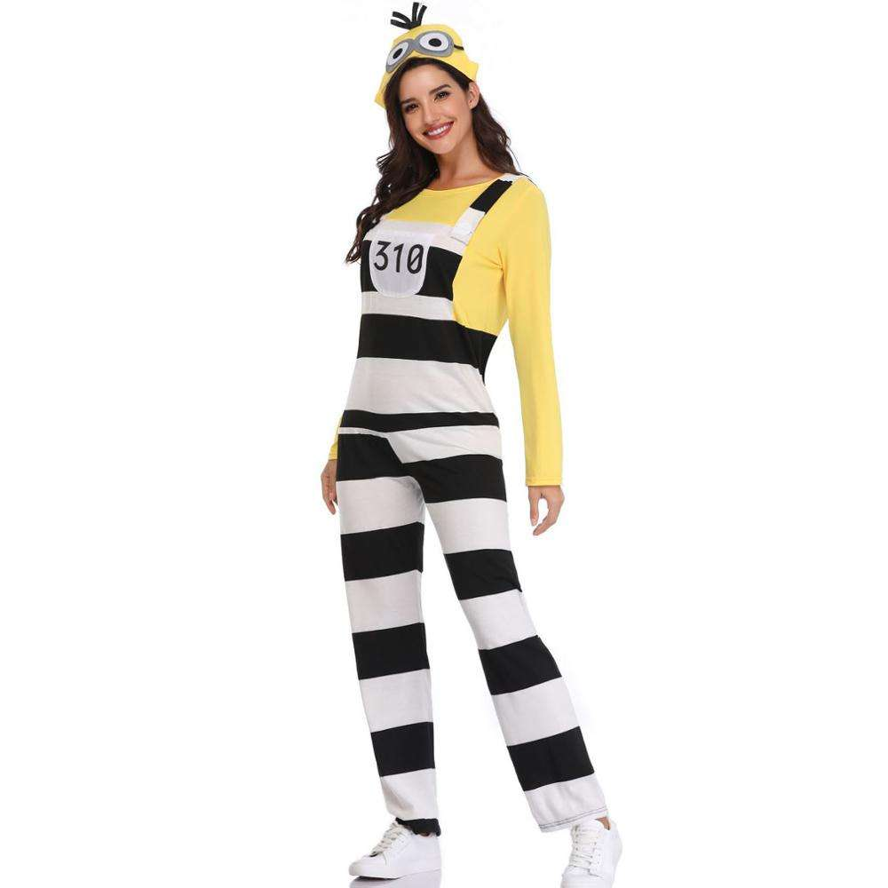 Halloween costumes for minions cosplay women stage performances in costumes PGMC2013