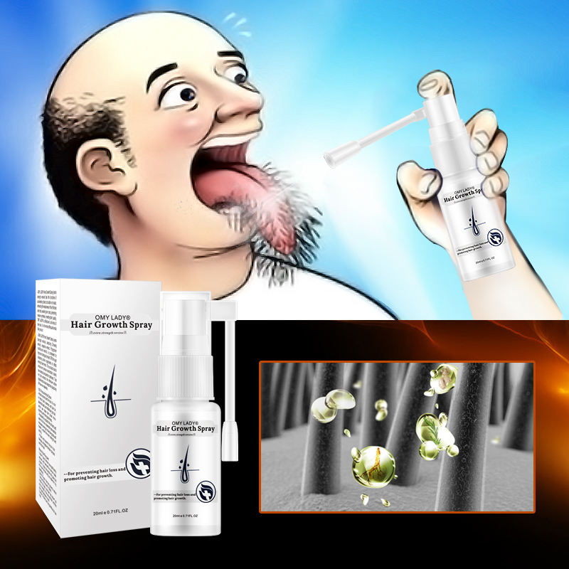 Best Hair Loss Treatment For Faster Hair Growth 100% Natural OMY LADY Hair Growth Serum