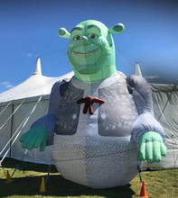 large inflatable Shrek cartoon figures model for Advertising decoration