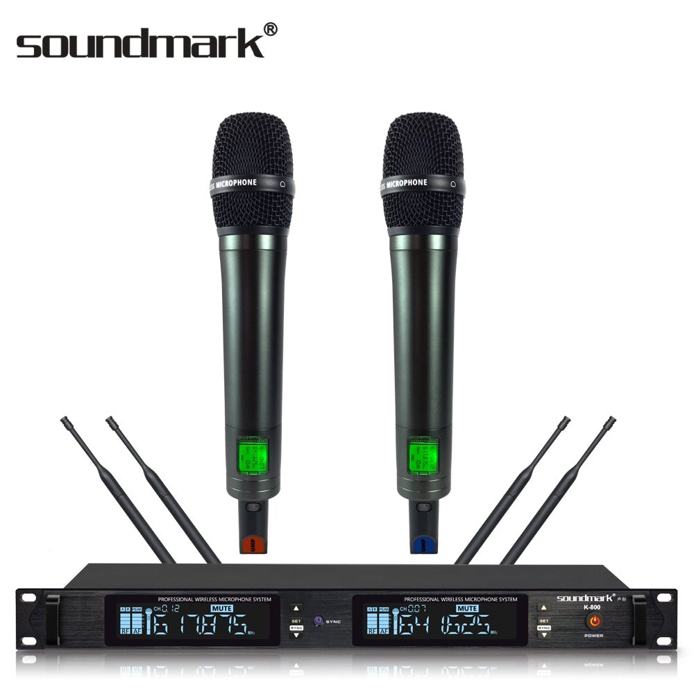 K-800 High-end KTV project or home entertainment, wireless handheld microphone with ID lock
