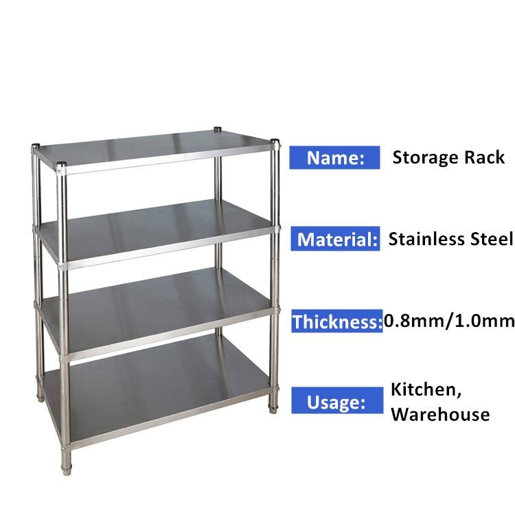 Stainless Steel Shelf Kitchen Shelves, Storage Shelf Rack Used Stainless Steel Shelving