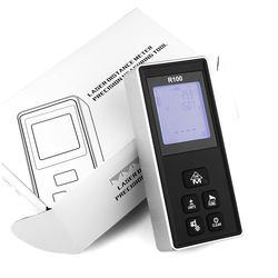 100m Digital Tape Meter Ranger Distance Measuring Tool Laser Measurement Laser Distance Meter Range Finder Laser Tape