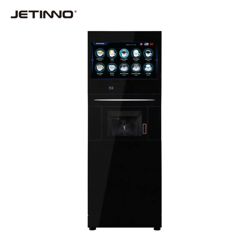 Fully automatic ground coffee vending machine vending machines hot cold drink vending