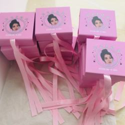 Nicetime Lashes Custom Handmade 3D 5D 25MM Mink Eyelashes And Mink Lashes Private Label Lashes Packing Box