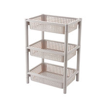 Living room kitchen plastic dish storage shelf rack