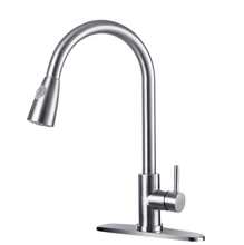 stainless steel  pull out   upc kitchen faucet