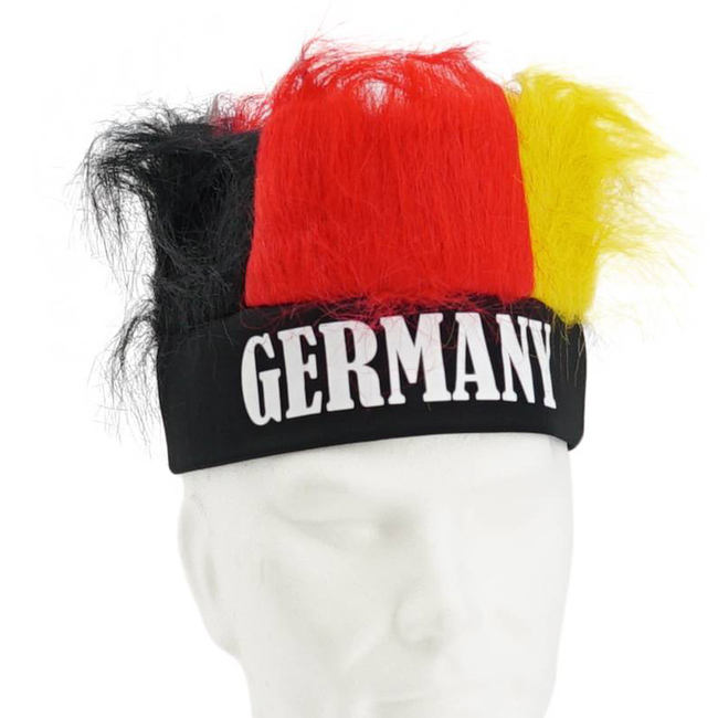 Factory direce sell crazy football fans wig