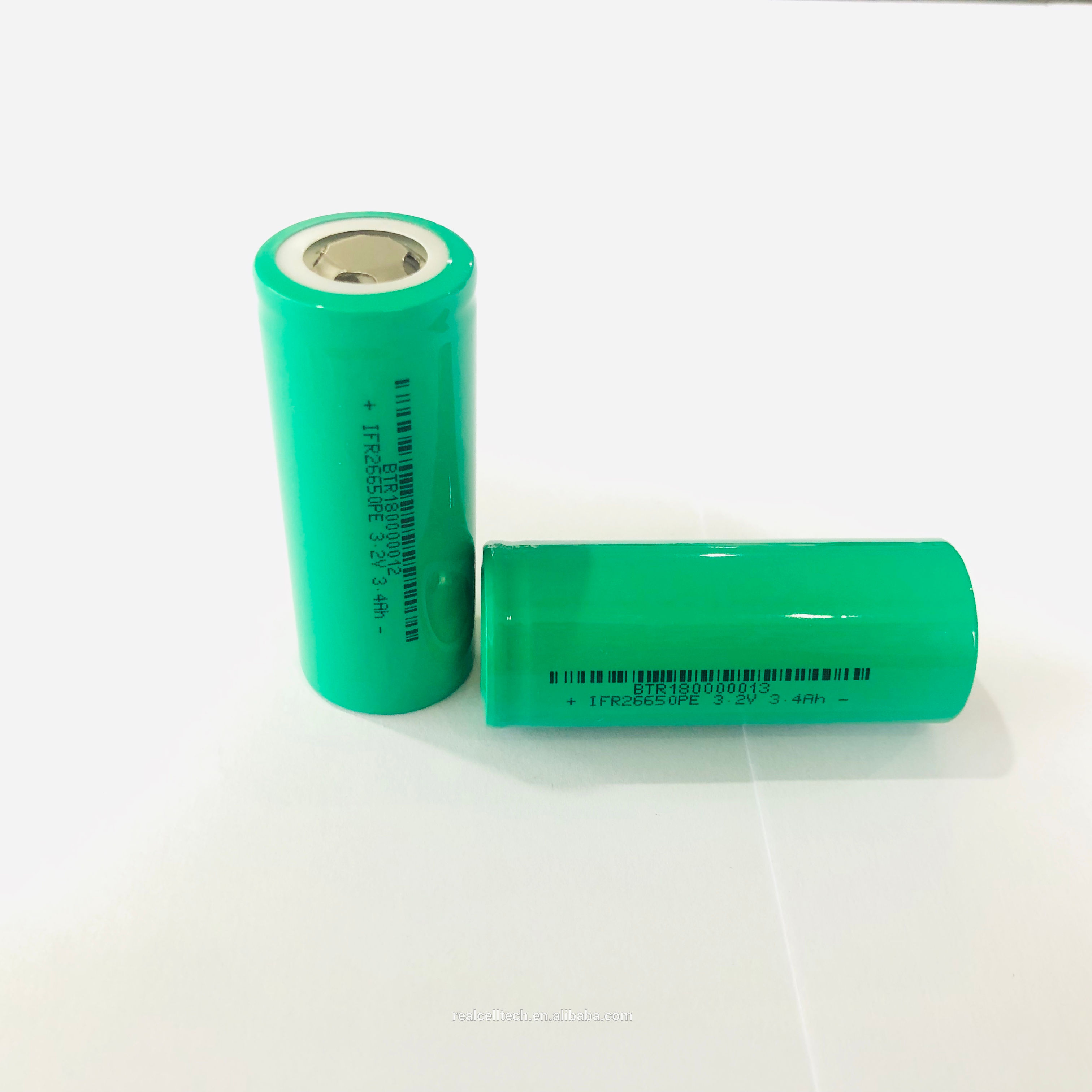 26650 deep cycle 3.2V 2.5AH Lifepo4 battery cell for segway