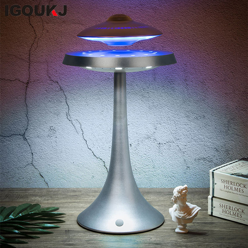 Free shipping product Superior Sound Quality UFO Speaker 360 Degree Hifi Surround Sound Magnetic Floating Leviating BT Speaker
