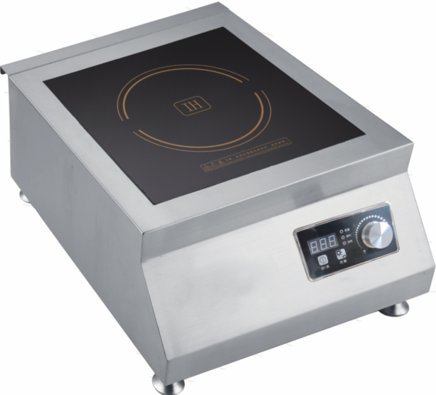 5000W Commerical coil induction cooker spare parts cooktop for restaurant