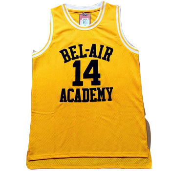 Drop shipping Custom yellow #14 #25 movie basketball jersey for men