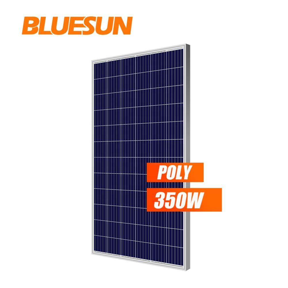 BLUESUN High Efficiency Solar Panel 350W 340Watt 330w Cheap Solar Panels 350 watt China for Solar Power Plant 1mw