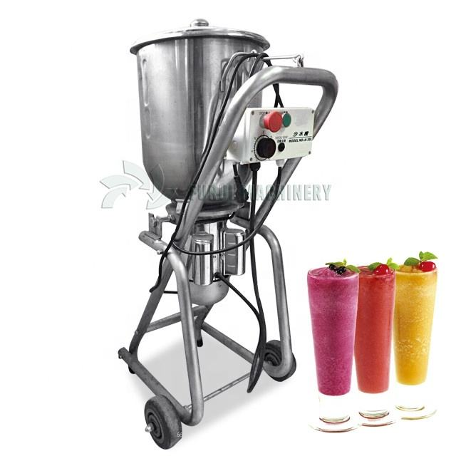 30L stainless steel fruit mixing machine / fruit smoothie ice blender/industrial smoothie machine