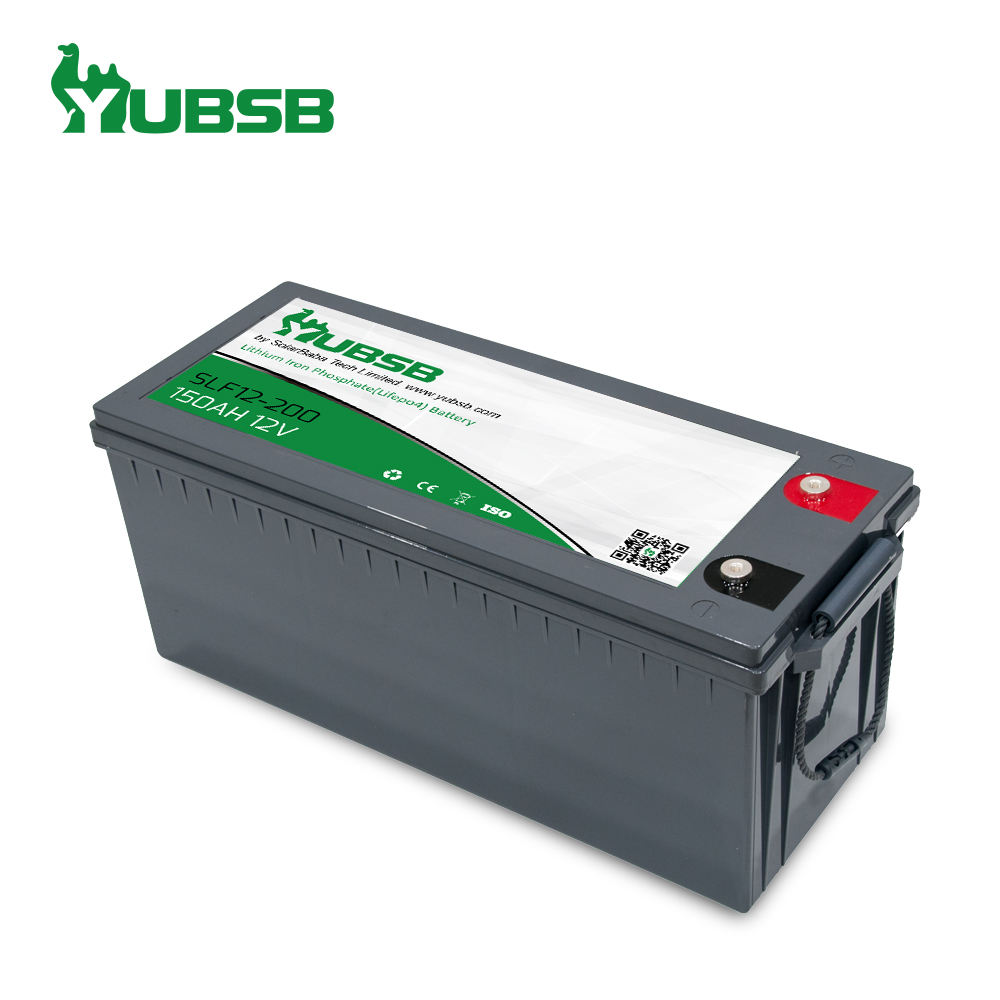High quality LiFePo4 12V 200ah deep cycle power lithium ion battery for solar system