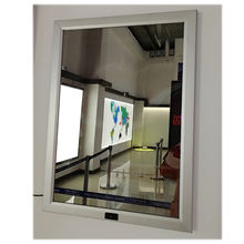A3 crystal magic mirror light box advertising panel
