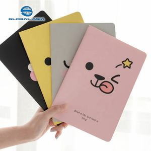 Sekolah Latihan Catatan Buku Diary Kraft Custom Spiral Notebook Printing