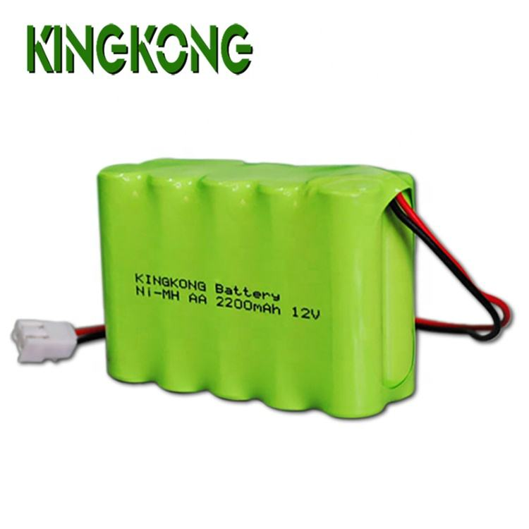 Portable device 12V NI-MH AA 2000mah rechargeable nimh battery pack