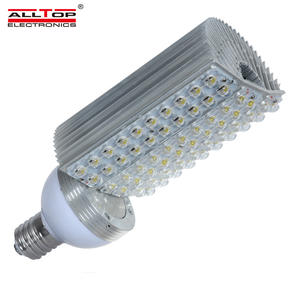 Alto lumen brillo IP67 impermeable e40 lámpara de calle led 60w